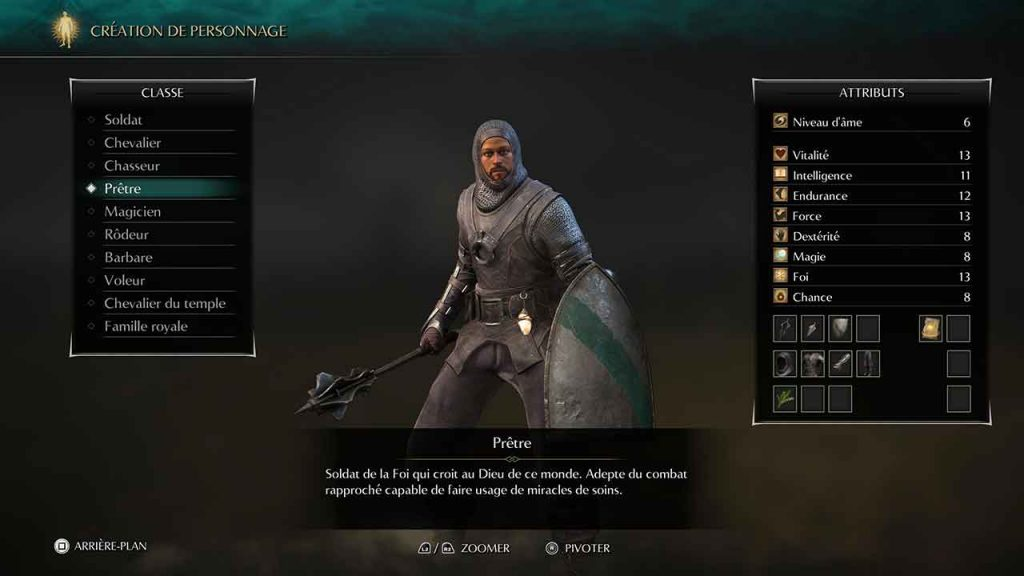 Demons-Souls-Remake-PS5-classe-de-personnage-pretre