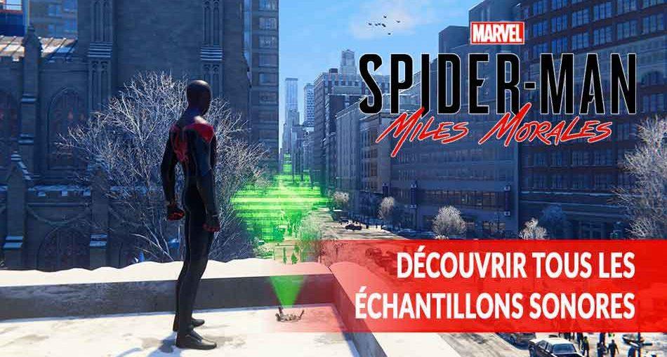 Marvel-Spider-Man-Miles-Morales-guide-echantillons-sonores