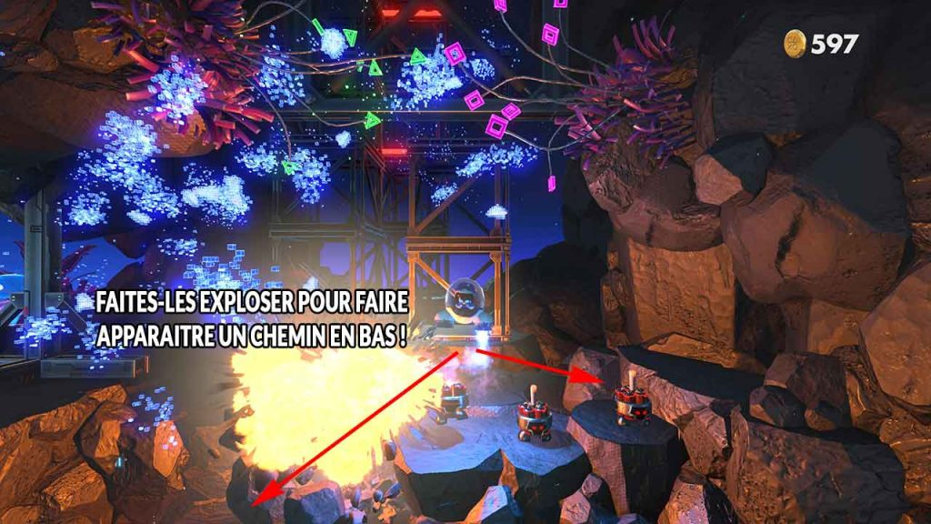 astros-playroom-PS5-emplacement-puzzle-numero-2-dans-circuit-SSD-cavernes-en-cache