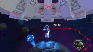 astros-playroom-PS5-emplacement-puzzle-numero-2-dans-circuit-SSD-obstacles-en-orbite