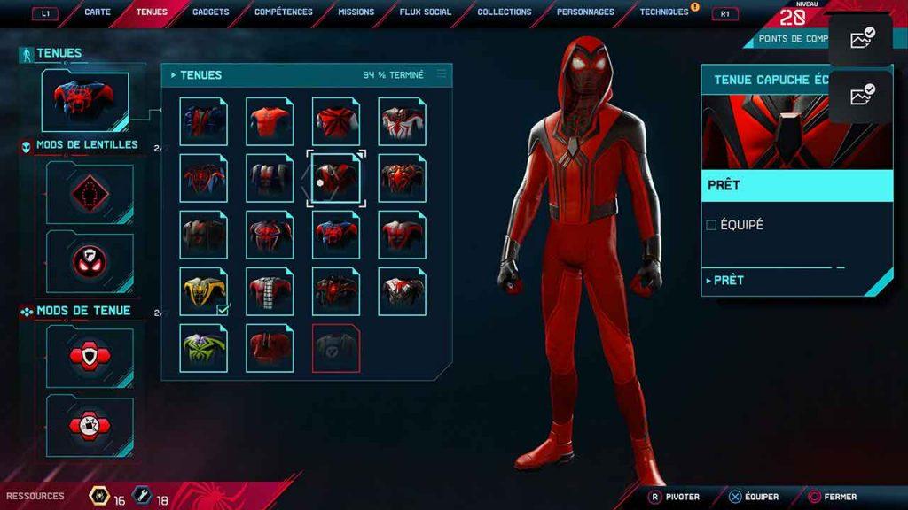 spider-man-miles-morales-tenue-capuche-ecarlate