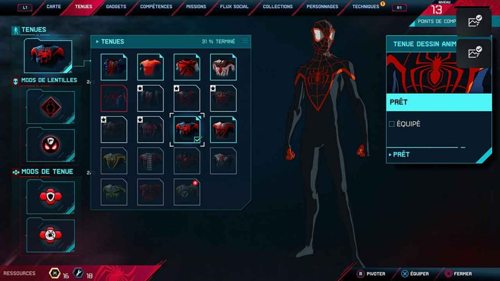 spider-man-miles-morales-tenue-dessin-anime