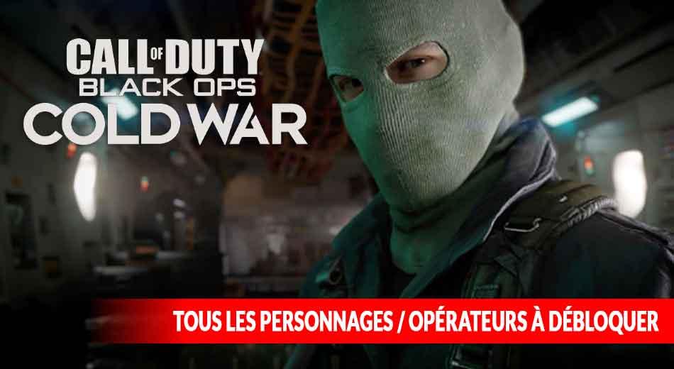 Liste des défis des opérateurs de Call of Duty Black Ops