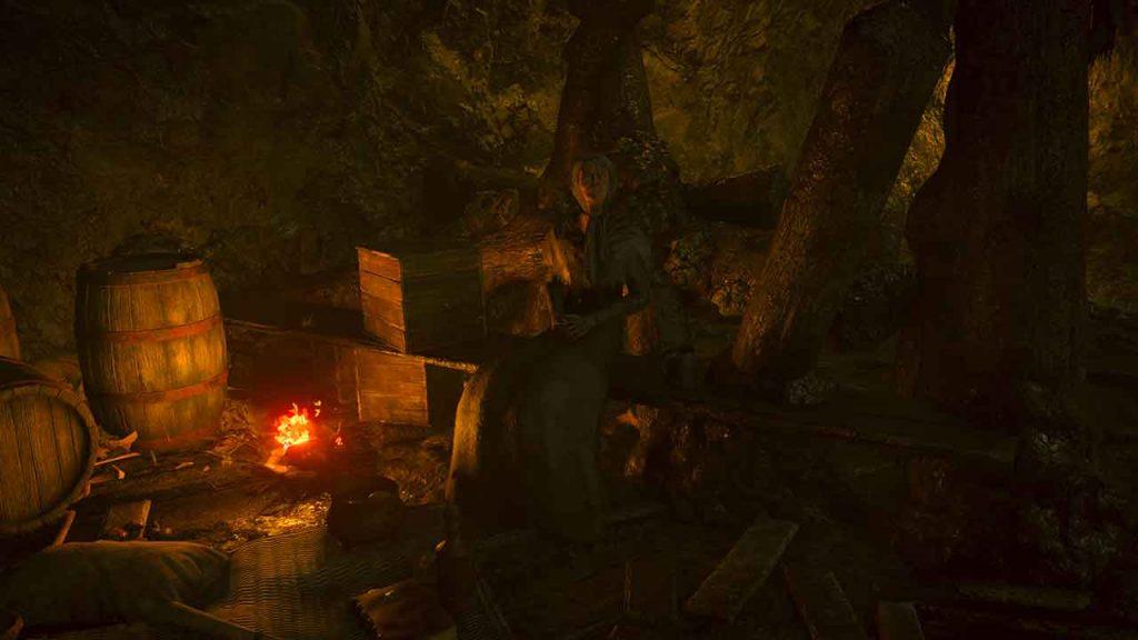 Demons-Souls-PS5-vendeuse-vieille-dame-infecte