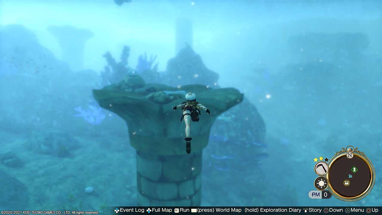 Atelier-Ryza-2-exploration-sous-marine