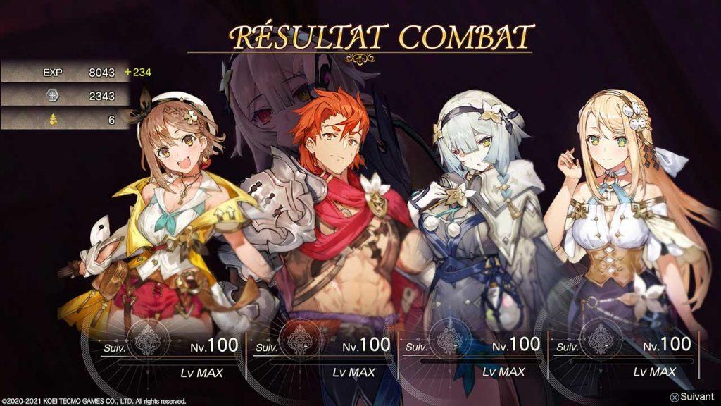 Atelier-Ryza-2-niveau-max-des-personnages-100