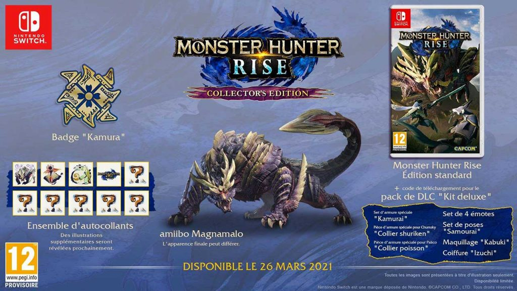 monster-hunter-rise-collector-edition-DLC-risque-sauvegarde