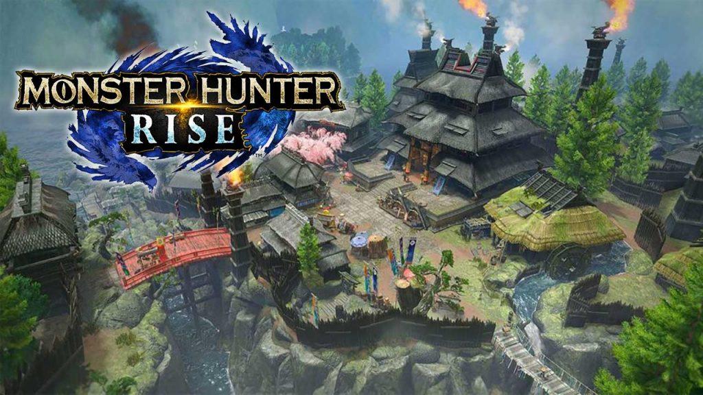 village-de-kamura-style-japonais-Monster-Hunter-Rise