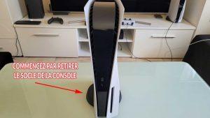demontage-PS5-socle