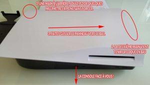 enlever-deuxieme-coque-capot-PS5-tuto-2