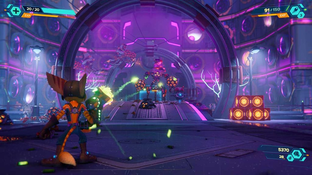 Ratchet-Clank-Rift-Apart-gameplay-des-combats