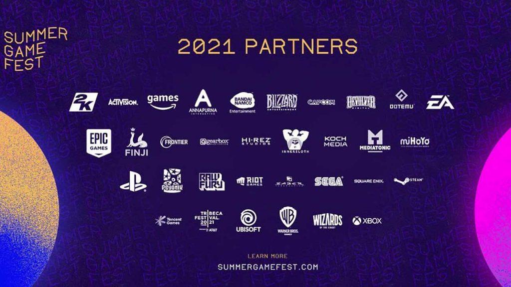 summer-games-fest-E3-2021-partenaires-salon