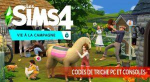 codes-de-tiches-pc-et-consoles-vie-a-la-campagne-les-sims-4
